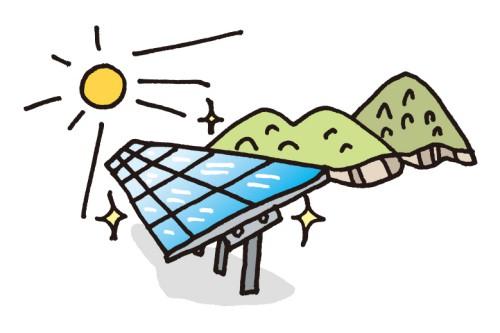 女性の電気工事士の仕事 太陽光発電の設置